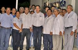 EL MTRO. MANUEL QUINTERO QUINTERO VISITA LAS INSTALACIONES DEL INSTITUTO TECNOLÓGICO DE SALINA CRUZ