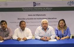 INICIA EL DIPLOMADO DIRECCIÓN Y GESTIÓN DE INSTITUCIONES EDUCATIVAS CON SEDE EN EL CAMPUS SALINA CRUZ